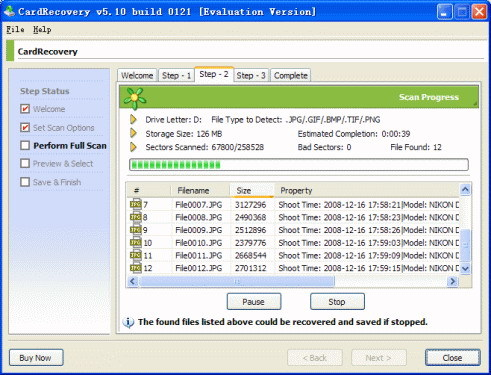 Card Recovery Free Download software
