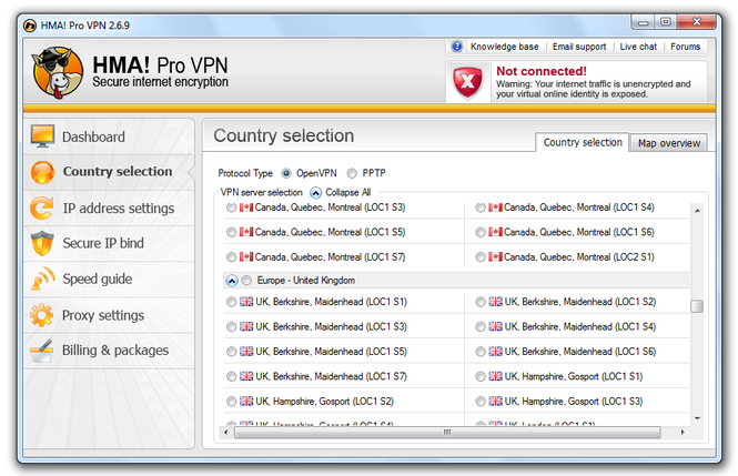 HMA Pro VPN Free Download full