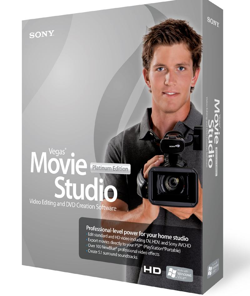 Free Vegas Movie Studio download setup