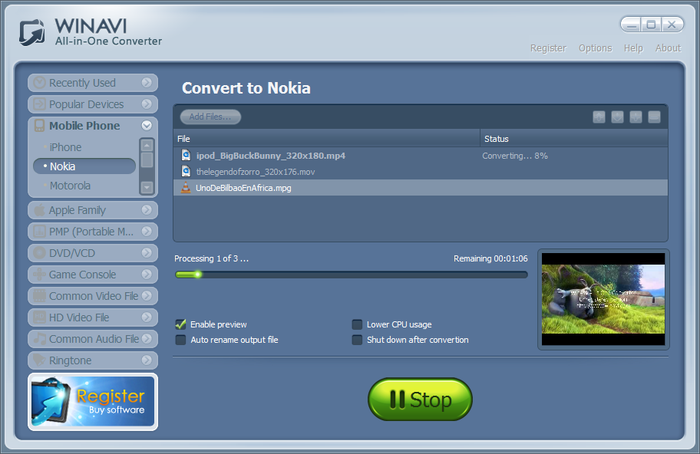 winavi all-in-one converter free download setup