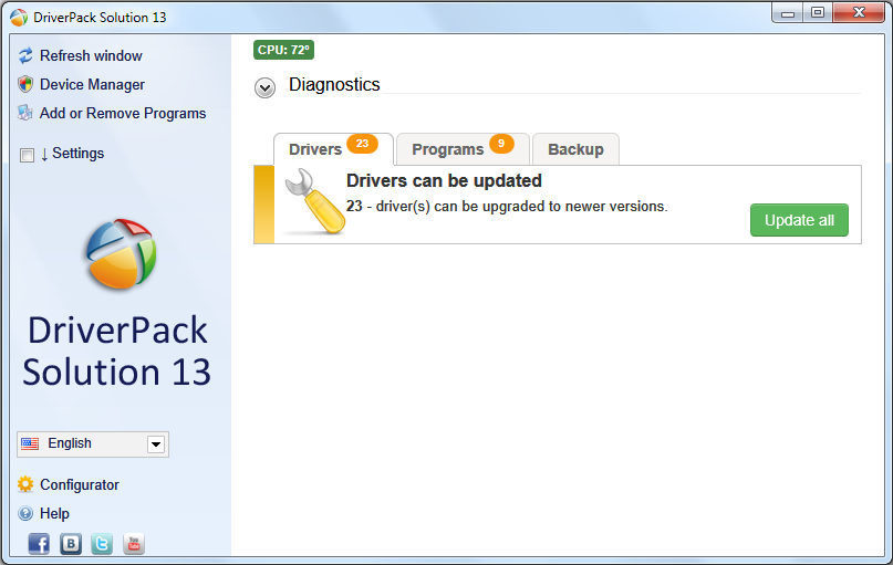driverpack solution 12.3 full free download filehippo