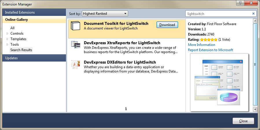 Visual Studio LightSwitch 2011 Free iso