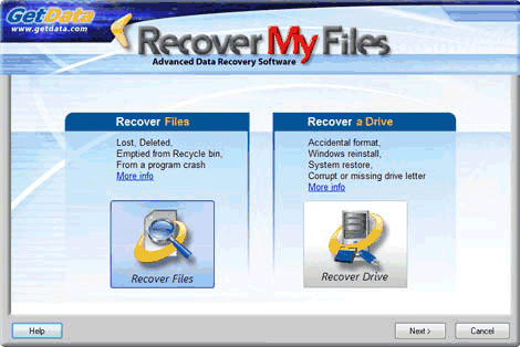 Recover My Files setup download