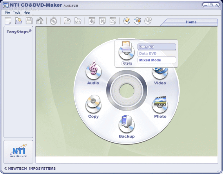 NTI CD DVD Maker Free Download