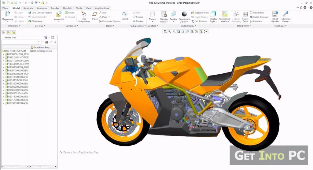 PTC Creo 2.0 M010 Download Free