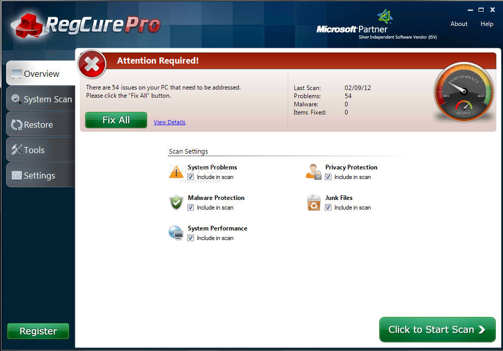 RegCure Pro Download Free