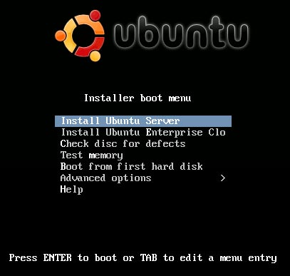 Ubuntu Server download image