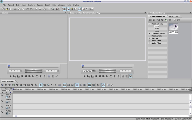 Ulead MediaStudio 8 Video Editor Free setup download