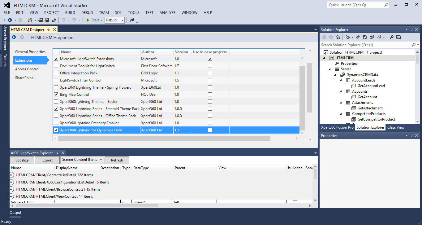 Visual Studio LightSwitch 2013 Free Download setup