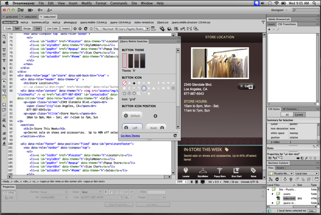 Adobe dreamweaver cs6 12 0 3 for Dreamweaver app templates