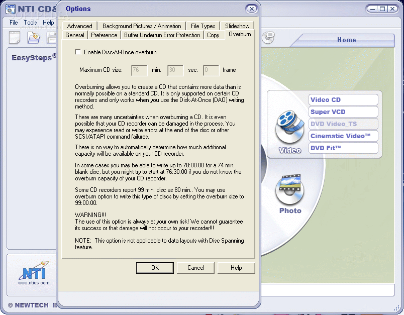 NTI CD DVD Maker Download Free