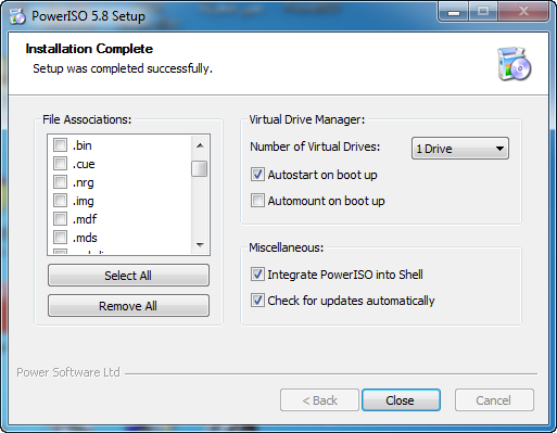 poweriso setup download