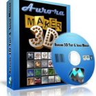 Aurora 3D Text & Logo Maker Free Download:freedownloadl.com Graphic Design
