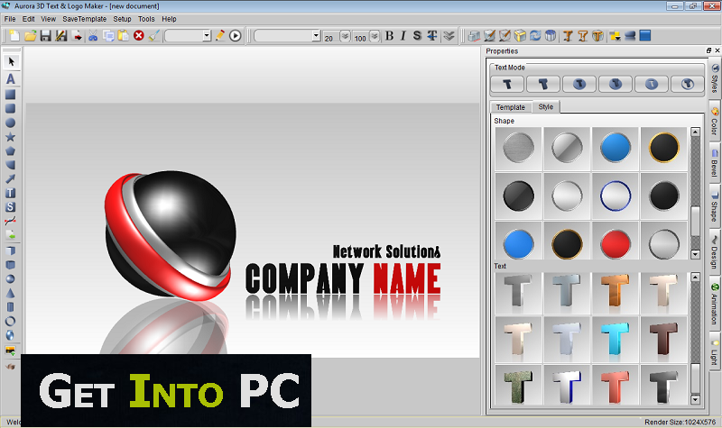 free 3d logo software