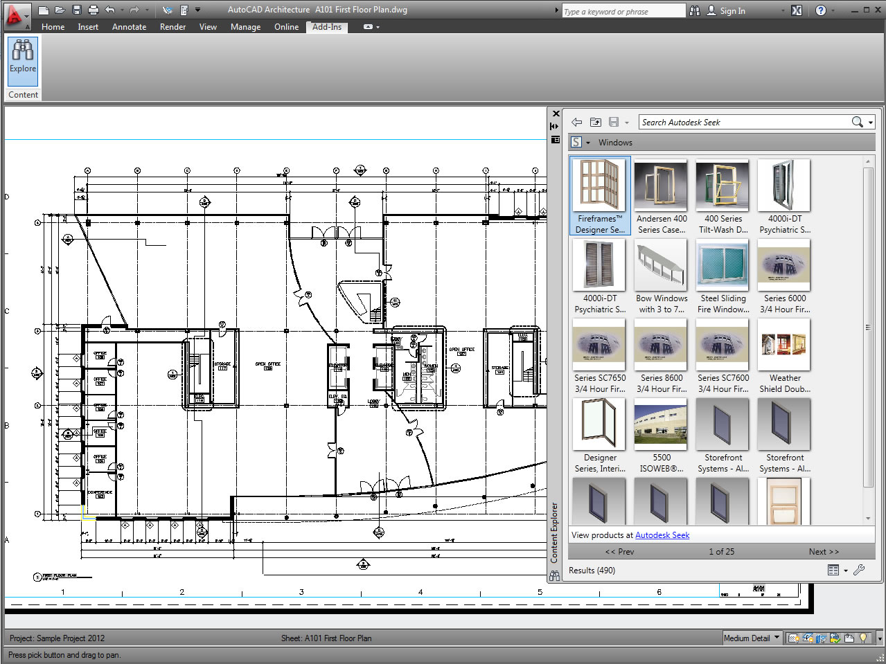 AutoCAD Architecture 2011 Download for free