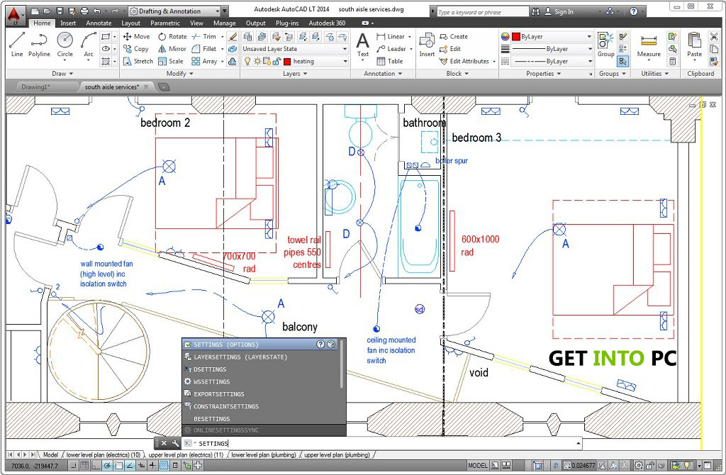 AutoCAD LT 2014 Download free