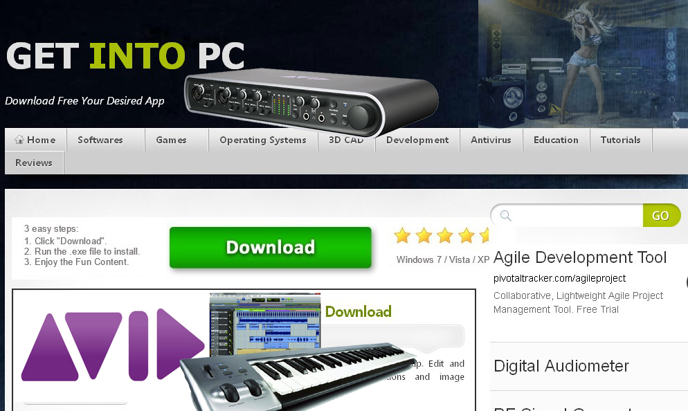 Avid Pro Tools HD 10 Free Download