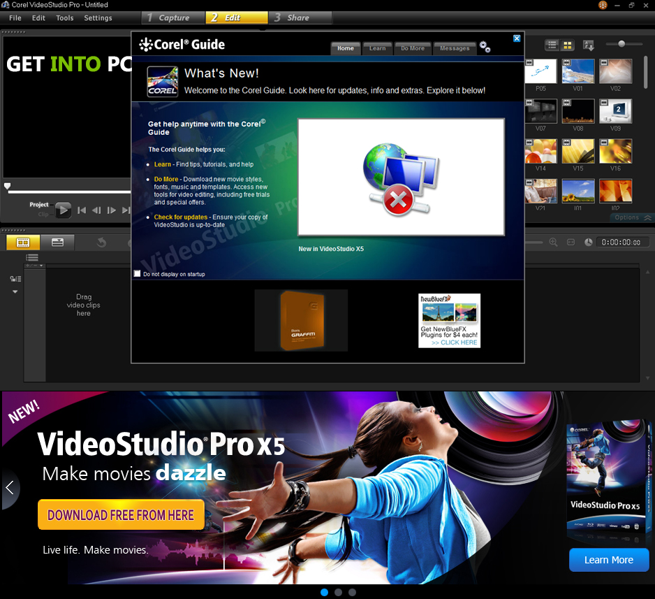 Free corel video studio templates gallery template for Corel video studio templates download
