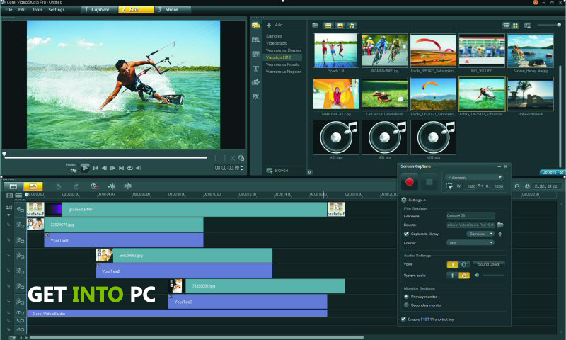Corel Videostudio Pro X5 Features