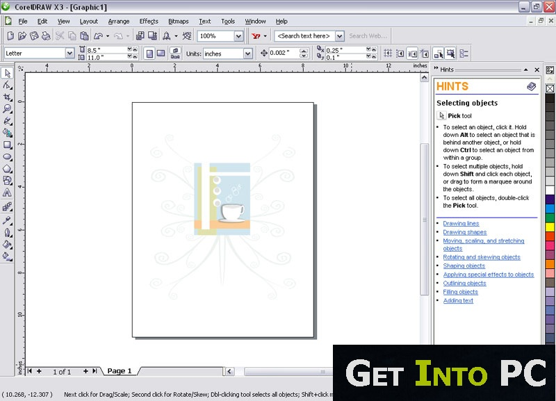 Coreldraw x3 torrent скачать