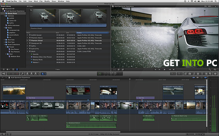 Final Cut Pro Features