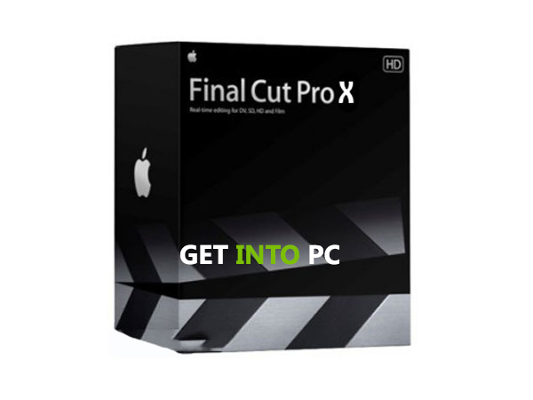 Final Cut Pro  X Free Download Setup