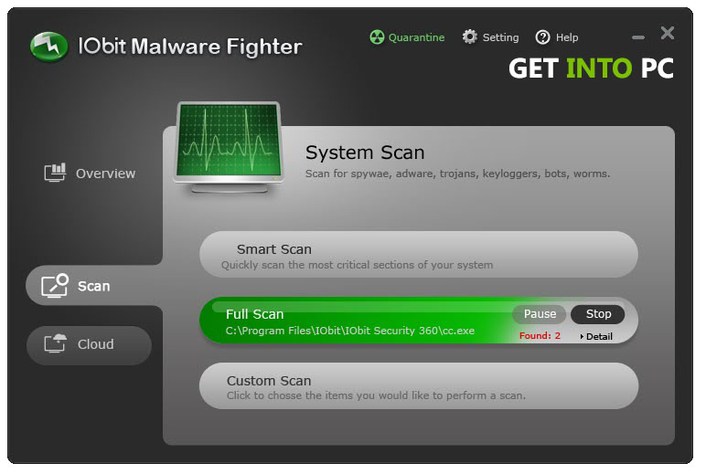IObit Malware Fighter Pro Download Free
