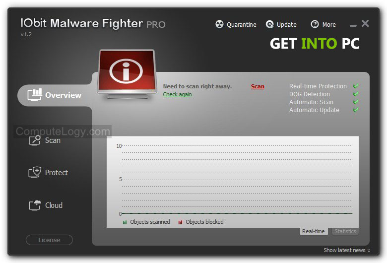 IObit Malware Fighter Pro Features