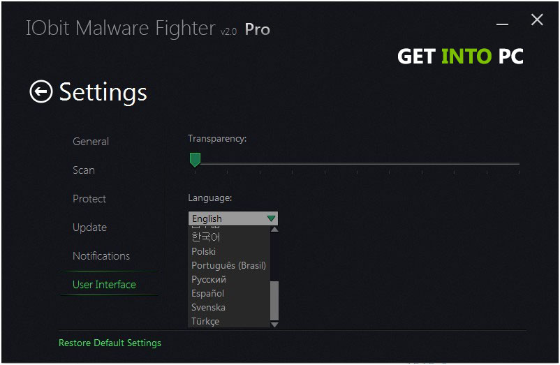 IObit Malware Fighter Setup Free Download