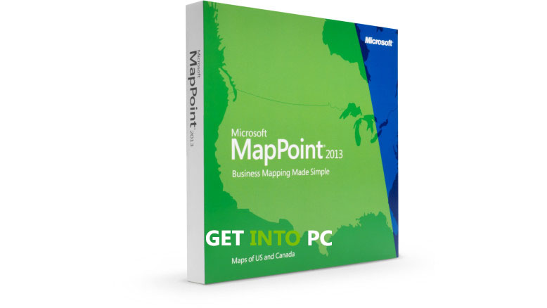 Microsoft MapPoint North America 2013 Free Download