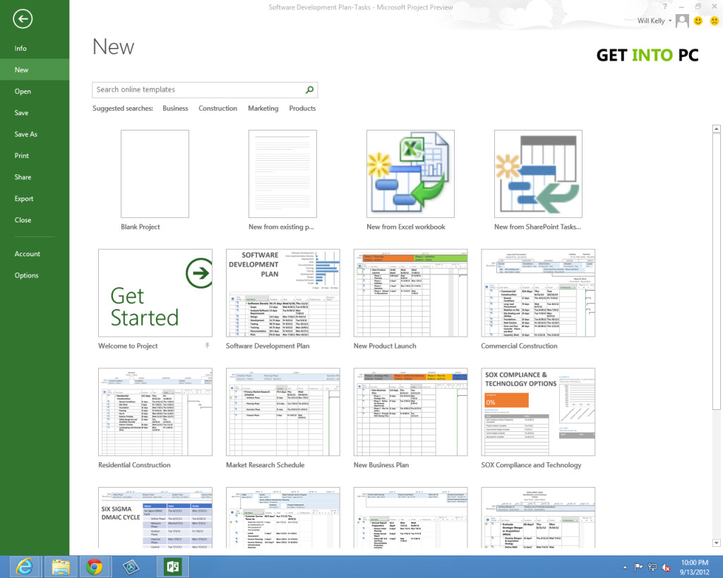 Microsoft Project 2013 Setup Free Download