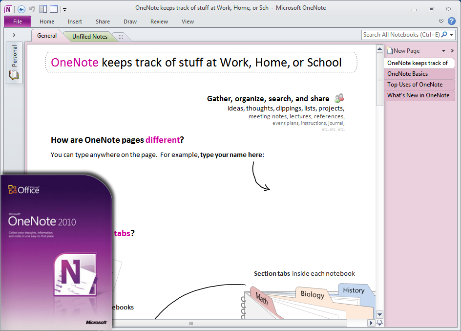 Office Onenote 2010 Free Download