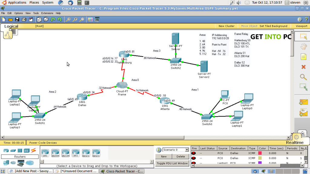 Packet Tracer Features