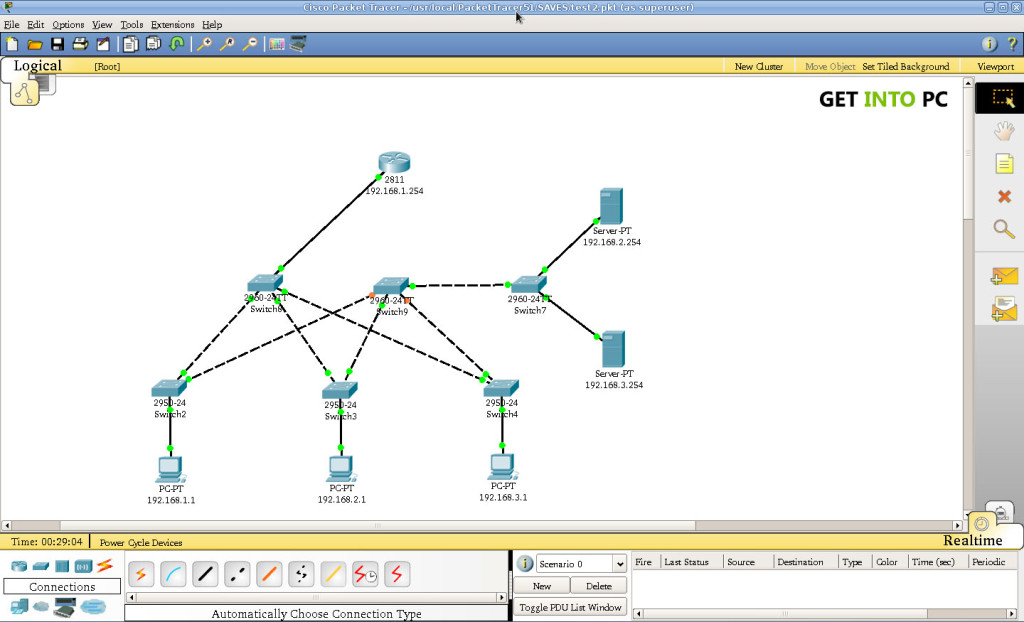 Packet Tracer Setup Free Download
