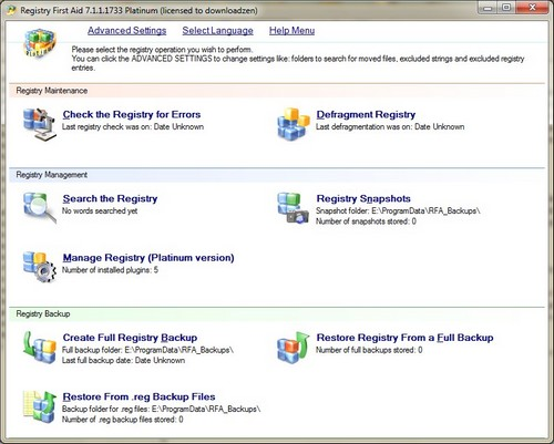 Registry First Aid Platinum Download For Free
