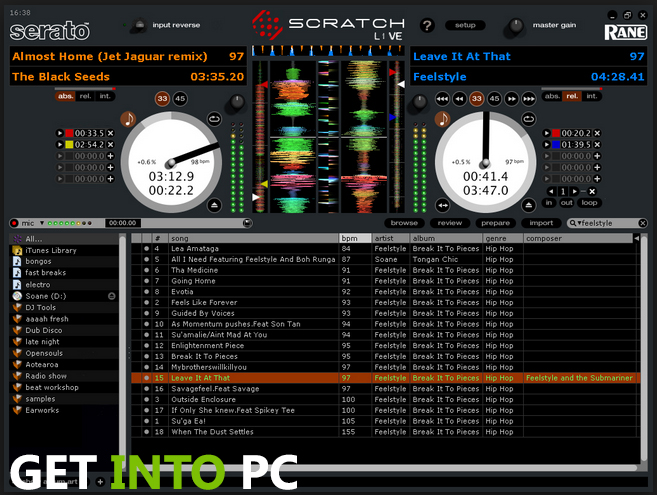 serato skins for virtual dj
