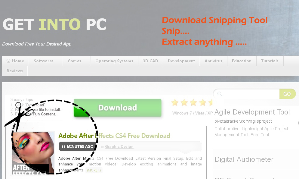 download snipping tool for windows 7 ultimate
