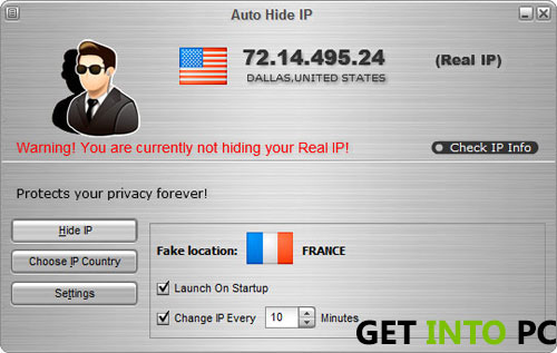 autohide IP system requirements