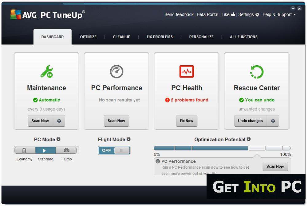 avg pc tuneup 2014 download free