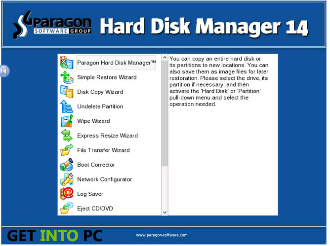 Paragon Hard Disk Manager Free Download