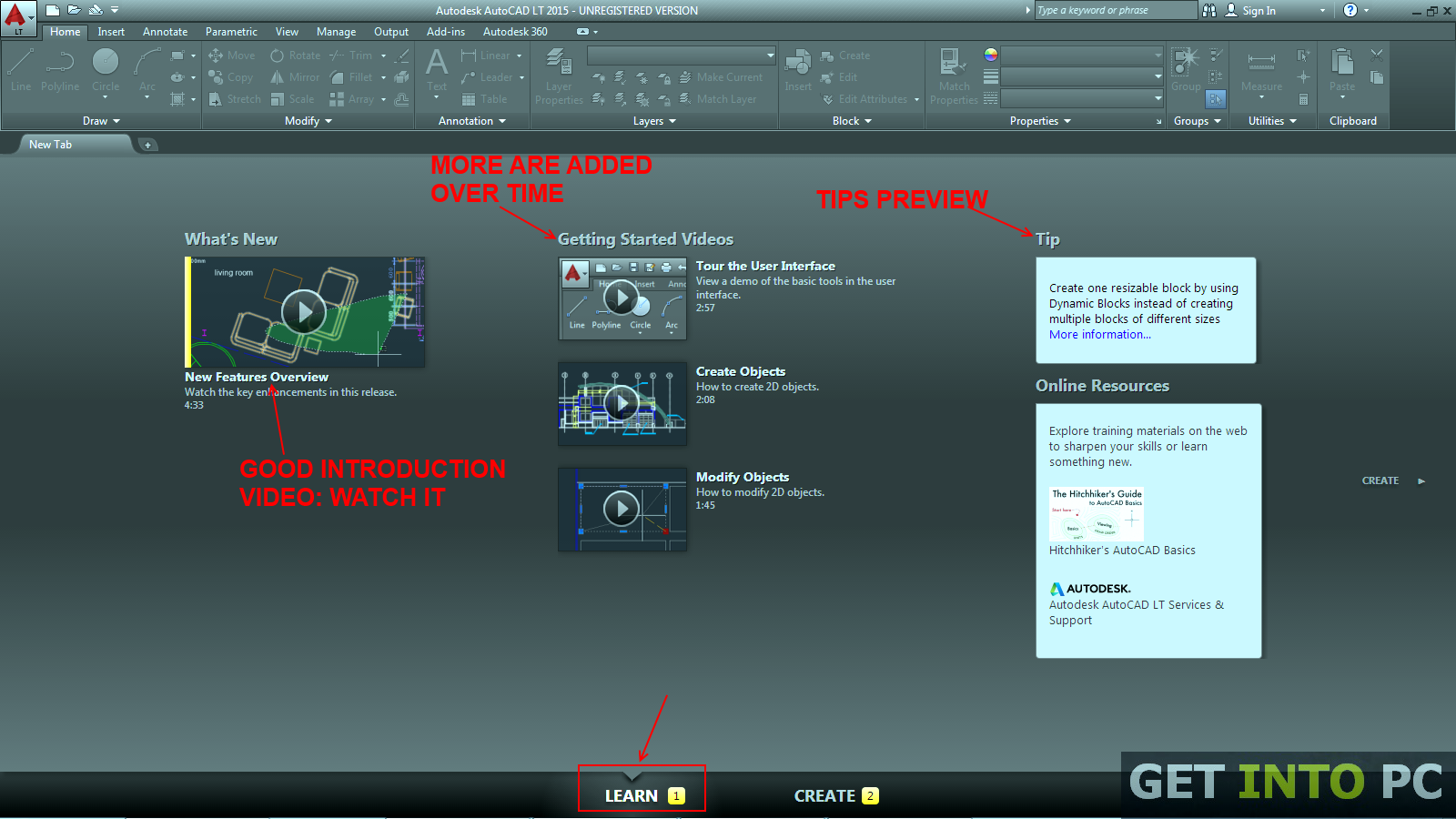 AutoCAD LT 2015 setup Free Download