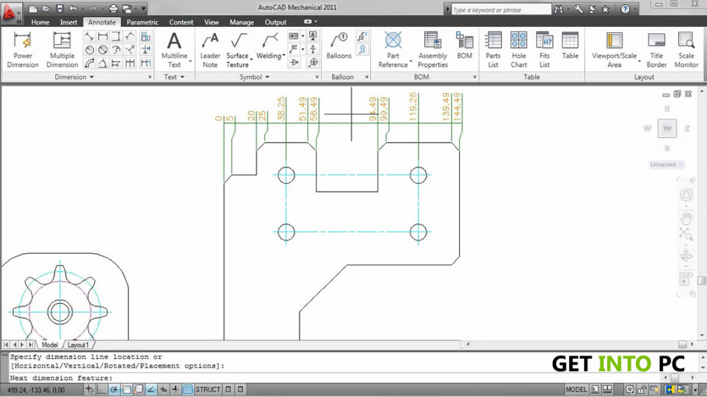 AutoCAD Mechanical 2014 Features