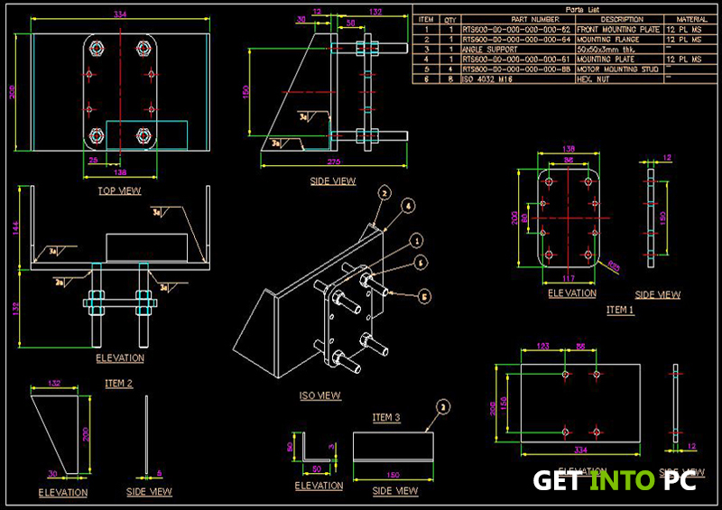 AutoCAD Mechanical 2014 Technical details