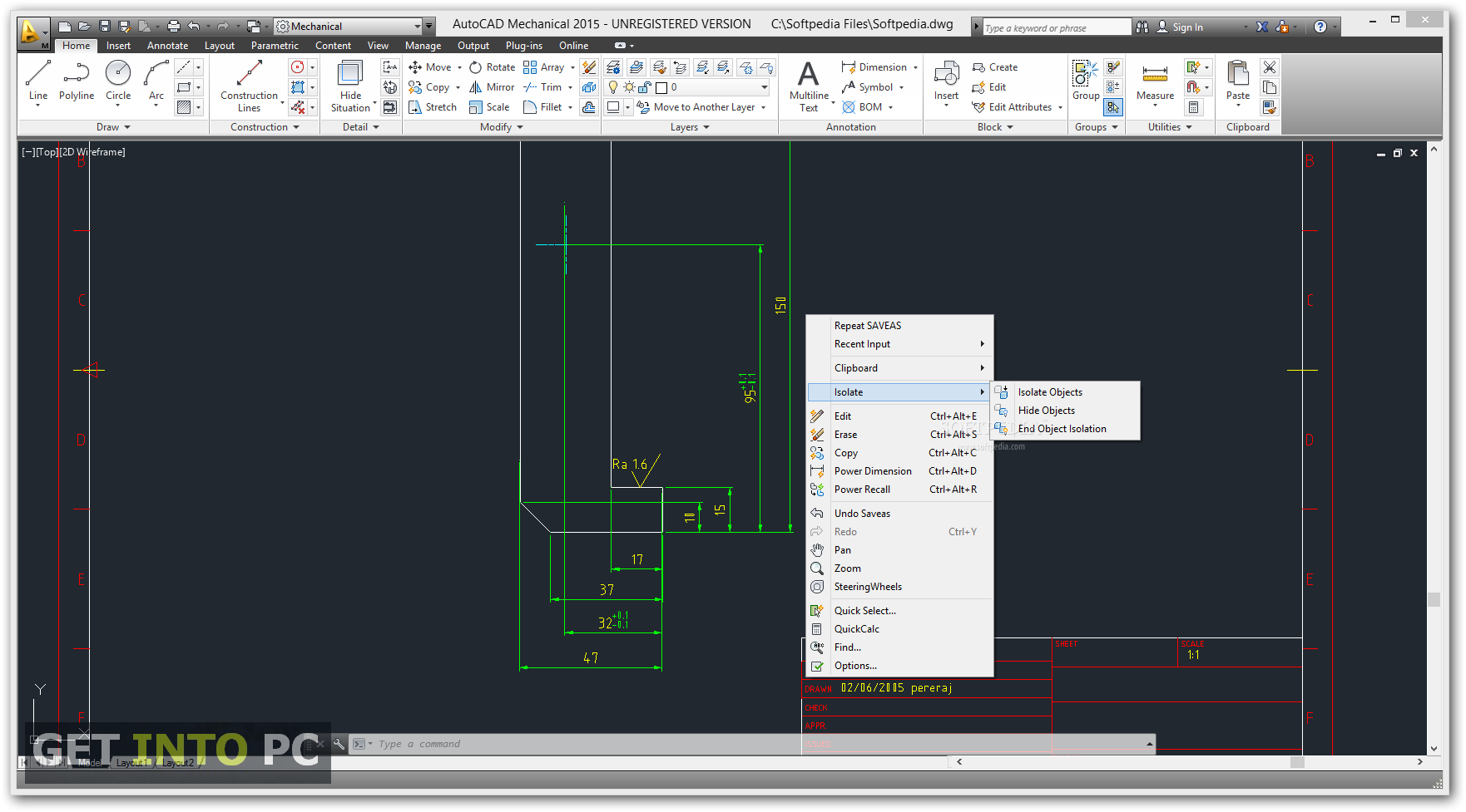Autocad Mechanical 2014 English Win 64bit Dlm Sfx Exe