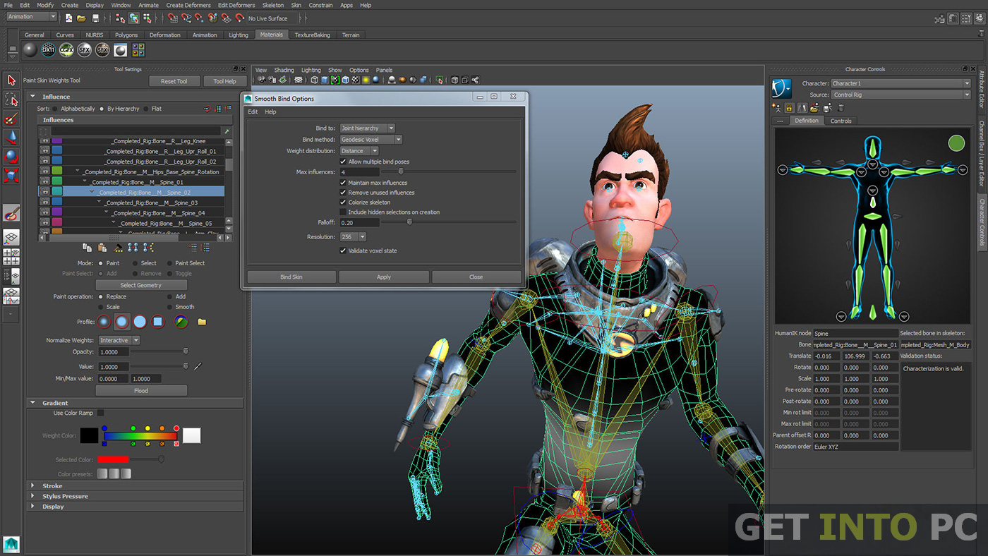 Free 3d Character Design Software Download : Autodesk maya free download