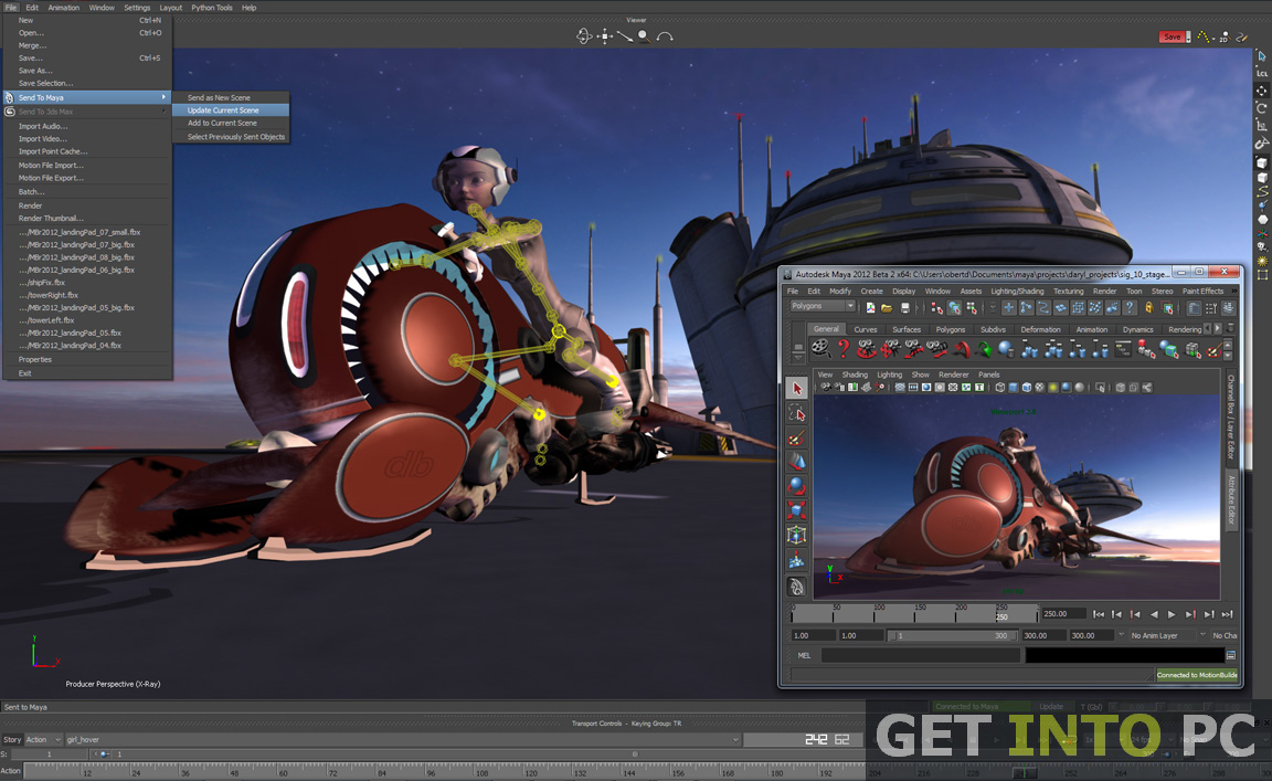 Autodesk MotionBuilder 2015 Download For Free