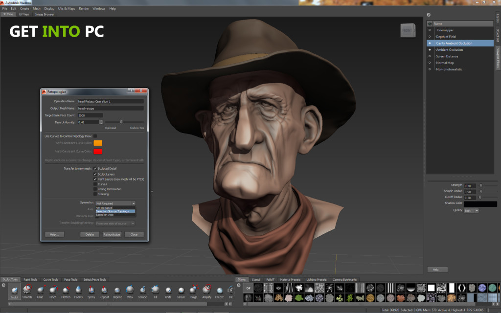 Autodesk Mudbox 2014 System requirement