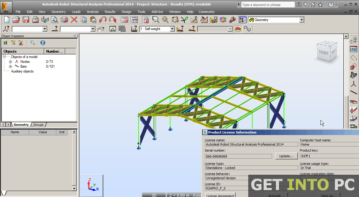 Autodesk Robot Structural Analysis Pro 2014 Setup Free Download