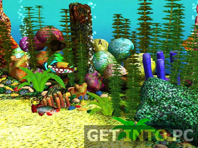 Download Aquarium 3D Screensaver Free