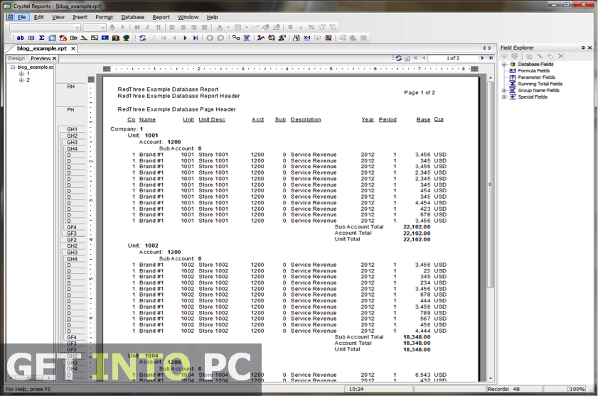 Download Microsoft Crystal reports Free